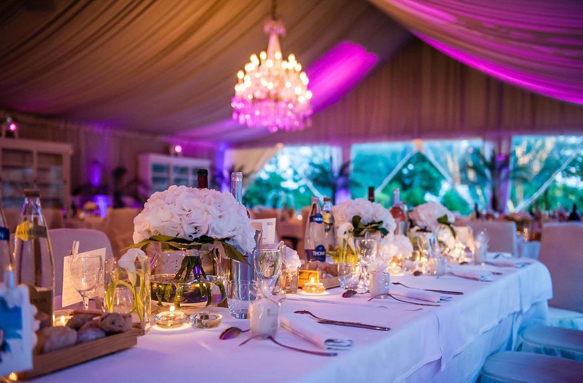 dcoration de table de mariage aux pins penches - Les Pins Penchs Mariage